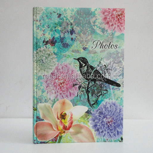Best price photo album paper inner sheet photo album 3-up pocket