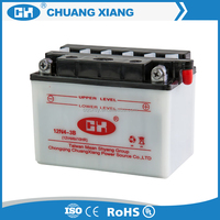 wholesale 12v 4ah dry charged motorcycle battery from battery manufacturer