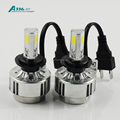 buiid-in-drive H7 COB LED headlight kit A336 auto LED bulb 36W 3300LM car headlight CE.ROSH,DOT approved