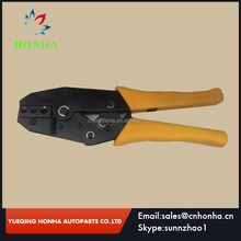 TE002 Crimping Tool Ratchet Crimper Pliers for Electrical Crimps Spade Terminals