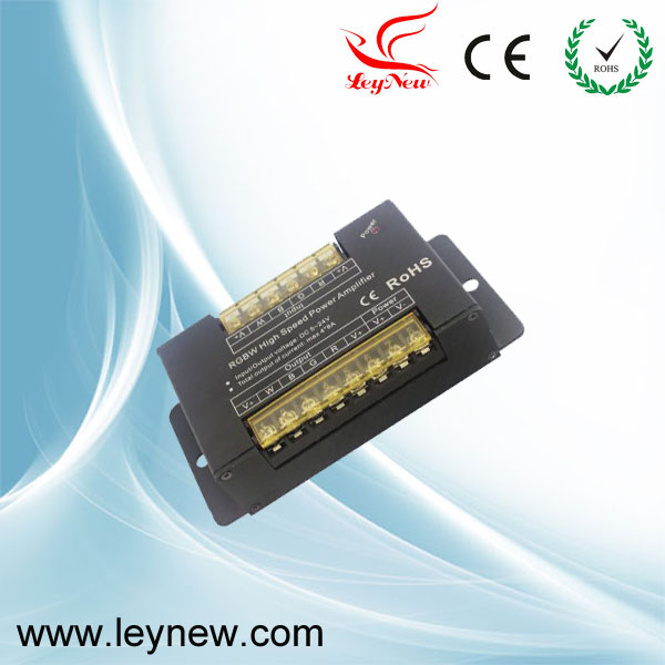 Good quality PWM dimming RGBW signal Amplifier with high speed large current power amplifier