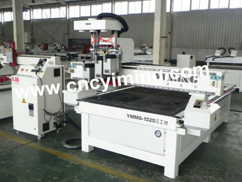 3 spindles cnc machine