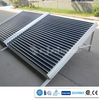 Direct Flow Vacuum Tube Solar Collector for Project with SRCC,SPF approved