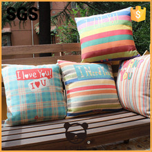 home decor square waterproof fabric outdoor cushion cover for sofa leaning on