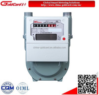 Smart diaphragm natural gas meter G1.6 with remote control