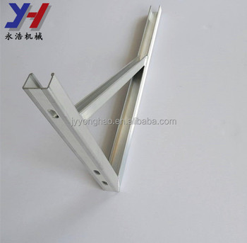 OEM ODM factory manufacture multislot support anti-skidding bracket doorway sunshade bracket as your drawing