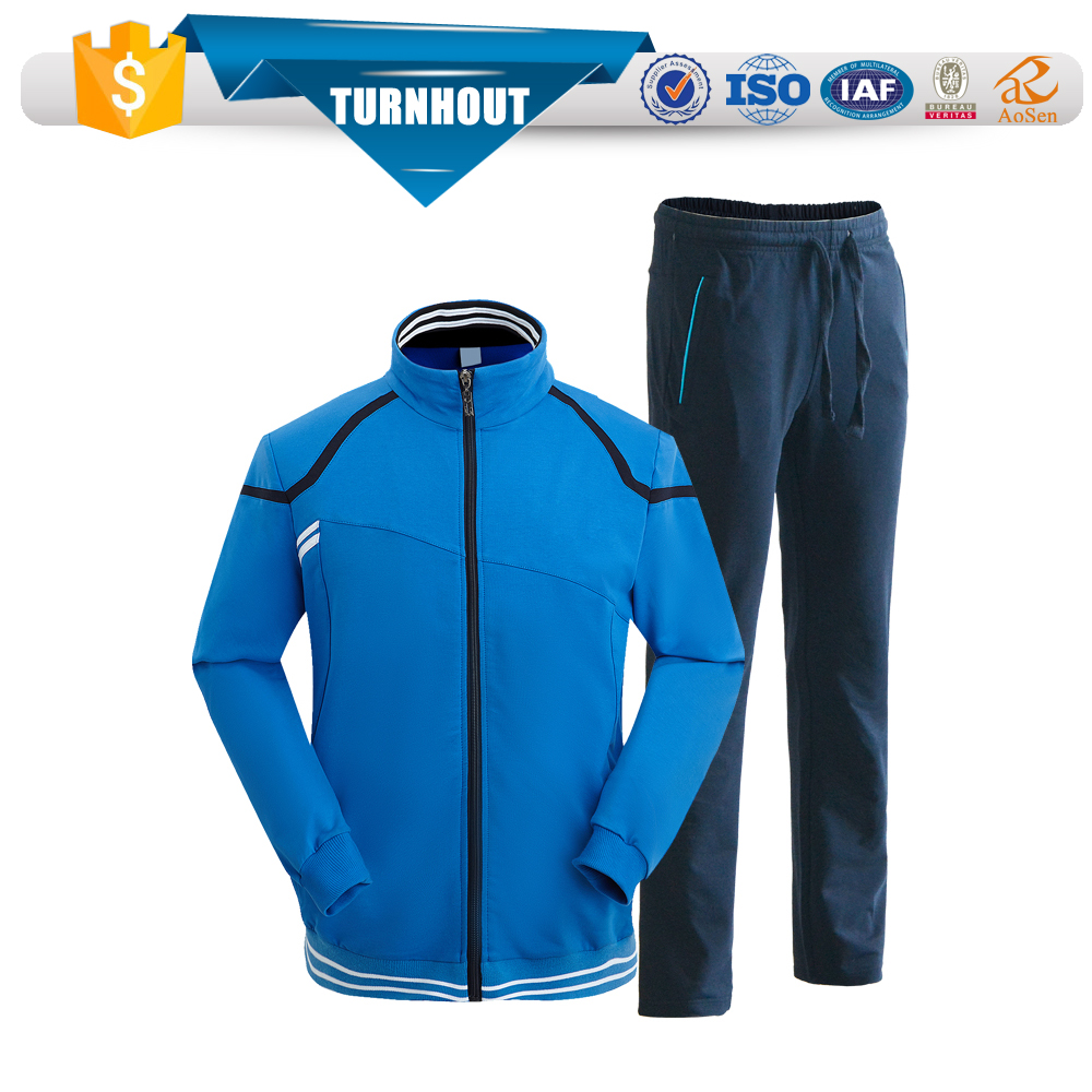 New arriving long sleeve warm fashion men winter tracksuit