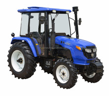 Luzhong 70 HP 4x4 4WD Farming Tractor with Front End Loader for hot sale
