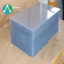 Factory Price 0.15mm Rigid Transparent Plastic PVC Sheets for Book Cover
