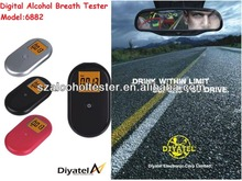 Vending Promotion Gift Alcohol Breath Tester Machines/Factory Directly Supply Alkohol Detector 6882