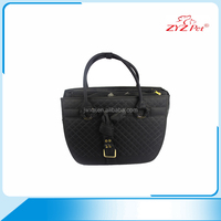 Manufacturer customized leisure pet travel carrier black pet bag carry dog