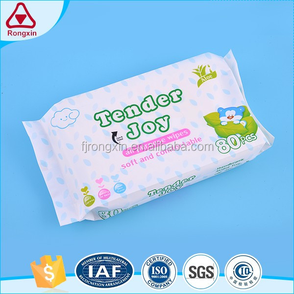 No alcohol aloe vera ingredient baby wet wipes manufacturer