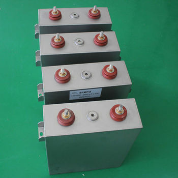 capacitor by oil filled variable device power on dc