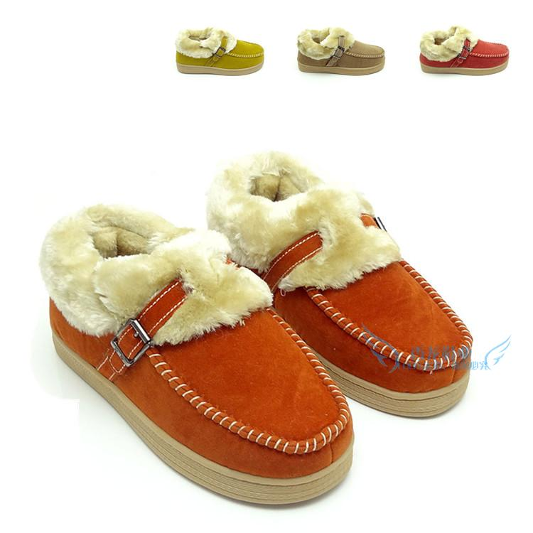 Hot-selling 2013 at home cotton-padded shoes winter warm shoes package with cotton-padded slippers slip-resistant plus size