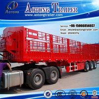 Best selling tri-axle semi trailer for agricultural or sideline products' transportation