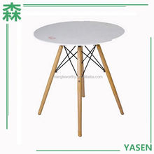 Yasen Houseware Outlets Popular New Style Round Dining Table For 4 Patio Furniture,Round Dining Table Contemporary