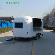 High quality china mobile food cart vending van for sale