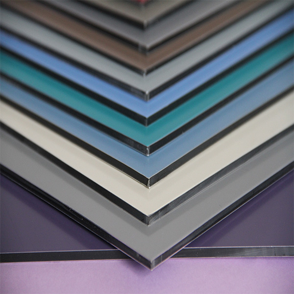 suppiler of best quality aluminum composite panel for facade cladding and curtain walls