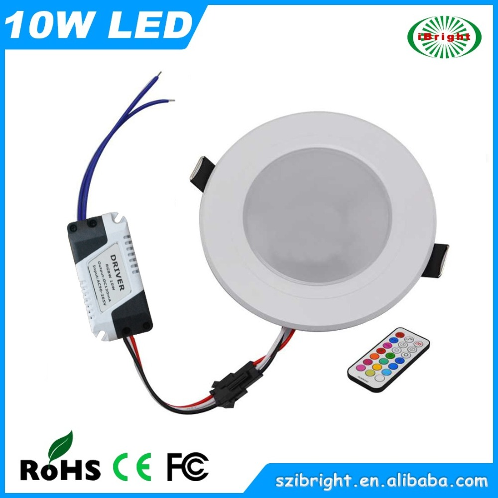 10w Rgbw Led Recessed Dimmable Downlight Buy Led Downlight Led Recessed Dow