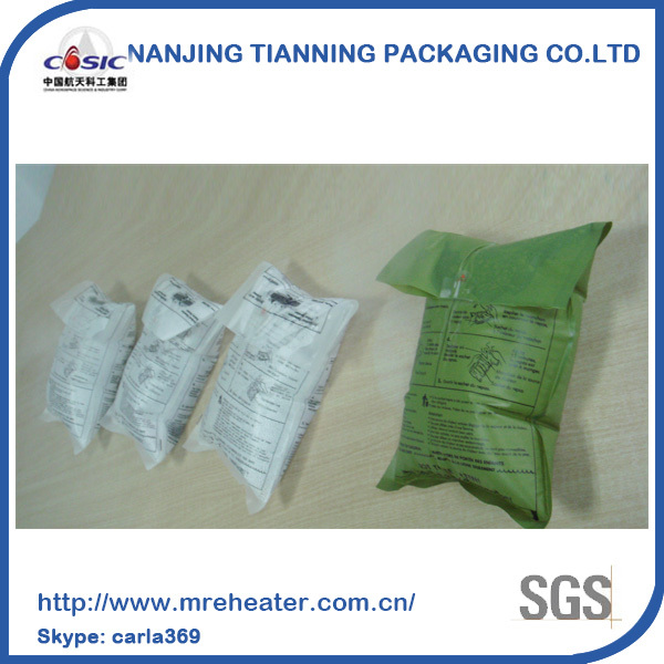 ready to eat food,individual mre with heater,flameless ration heater frh