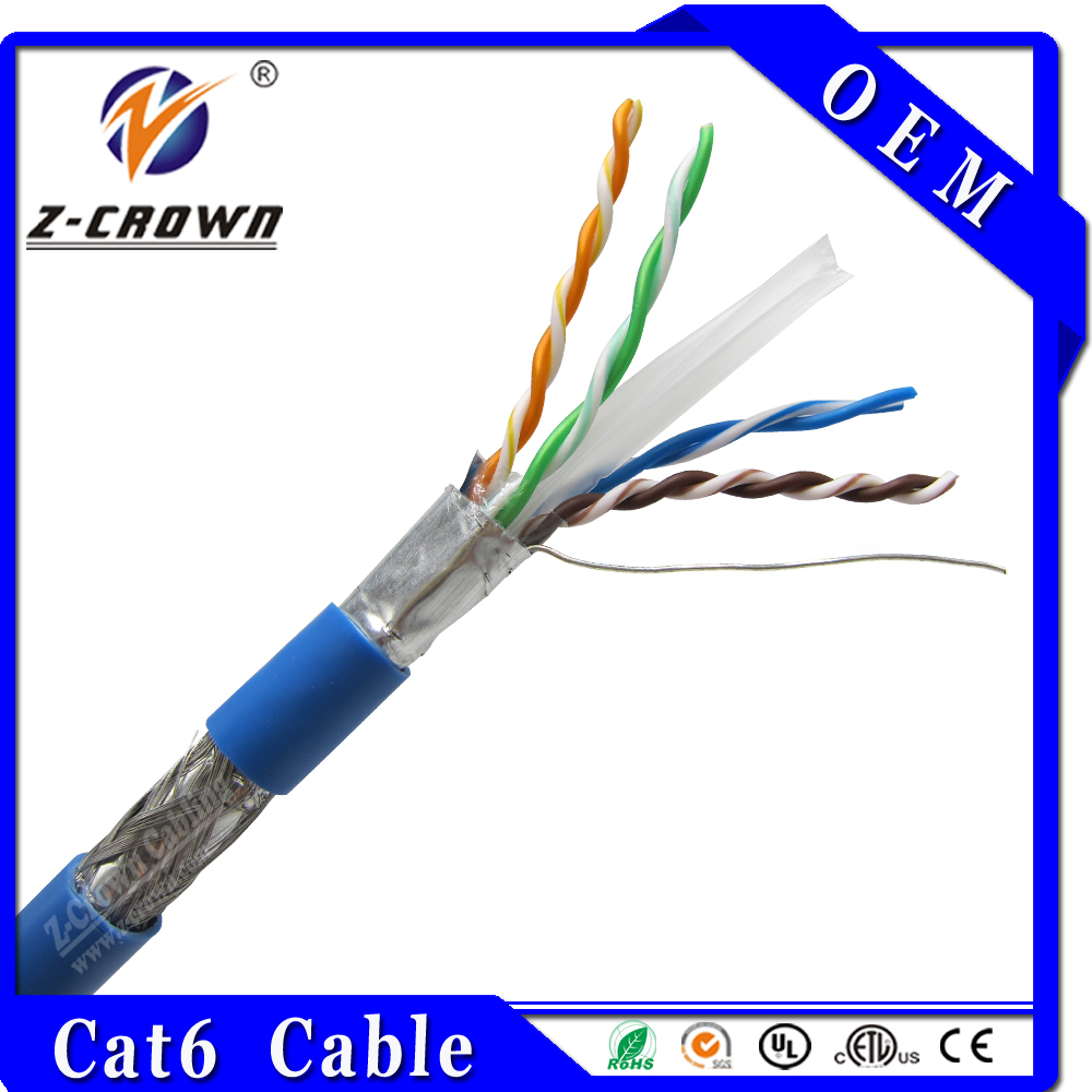Lan cable factory direct sell Catagory 6 stp ftp cable