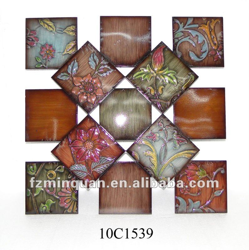 Flower Decorative Hanging Wall Plaques