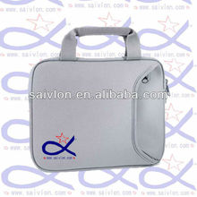 fashionable neoprene waterproof laptop/notebook bag/sleeve with side pocket