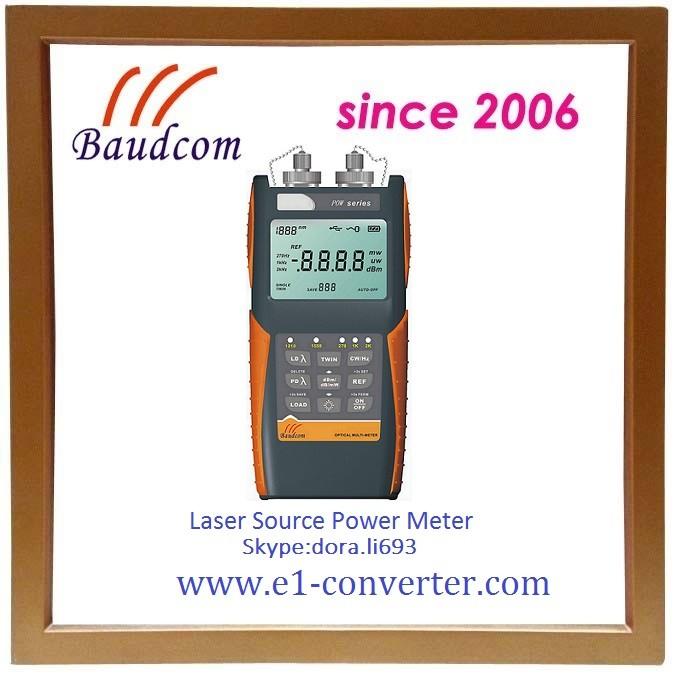 Laser Power Meter : Handheld laser power meter with wavelength light source