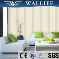 LJ11101 home decorative wallpaper fireproof non woven wall paper