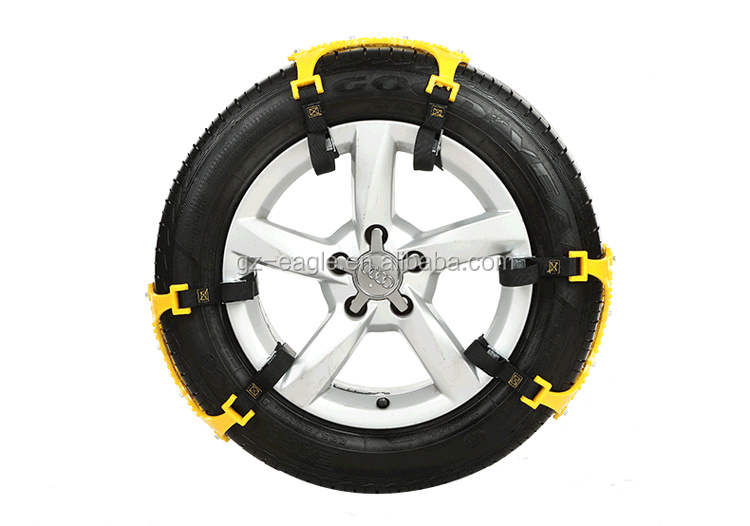 Promotion Price Car Snow <strong>Chain</strong> for Various Size Wheel