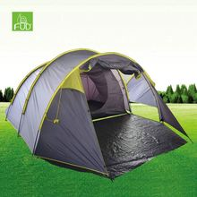 Good price high quality 3 room 10 person extra large family camping tent