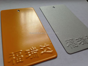 Powder coating RAL color cards Matt anti-corrosion polyester spray powder coating paints used in communication equipments