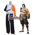 OW Hanzo Cosplay Costume Adult Halloween Game Cosplay Costume Custom Made