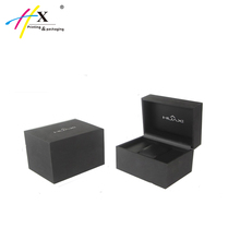 High Quality Carbon Fiber PU Leather Watch Box