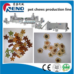 dry dog food /cat /pet chews processing factory made machinery making line