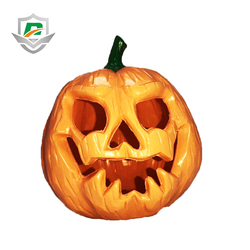 china wholesale halloween props simulation plastic decoration pumpkins