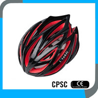 CPSC CE black shell colored EPS female bike helmets,best road bike helmets,safety bicycle helmets China manufacturer