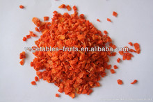 Dried Carrot granules 10*10*3mm with sugar or without sugar
