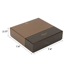 luxury square packaging chocolate truffle boxes