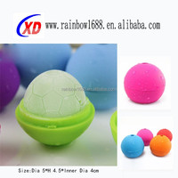 football silicone ball shaped ice cube tray