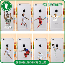 china suppliers America football player sublimation mobile phone tpu cover for iphone 6