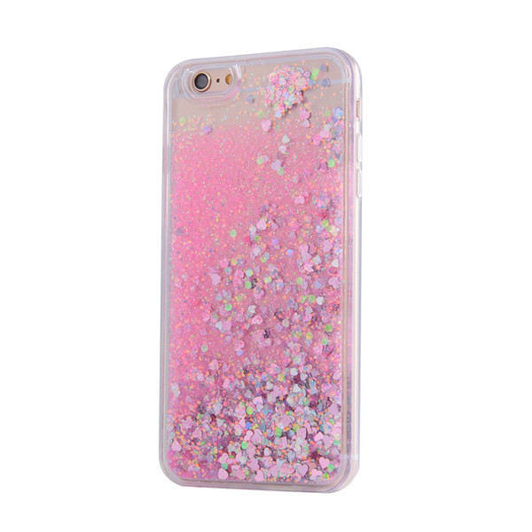 promotion custom 3D quicksand cell phone case