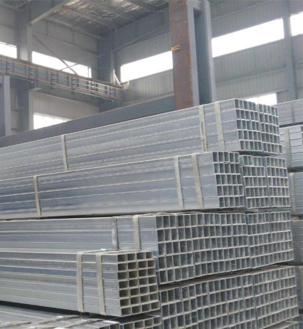 Hollow thin wall thickness pre/hot-dip galvanized steel square pipe / tube 150x150 mm jis g3444 building material