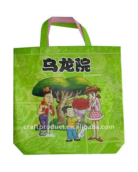 pictures printing nonwoven tote bag