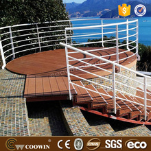 COOWIN anti-slip WPC material boat decking