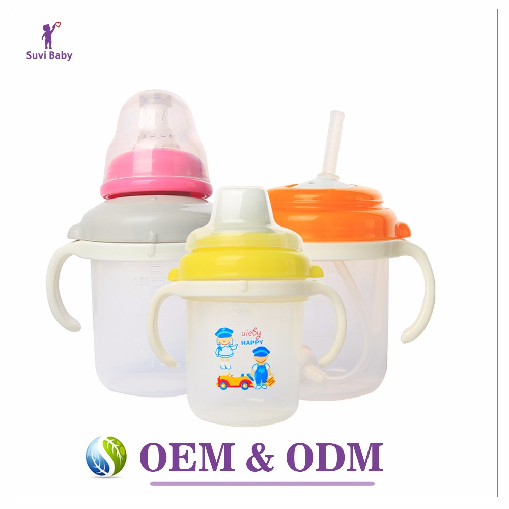Free sample wholesale plastic drinking cups with straws