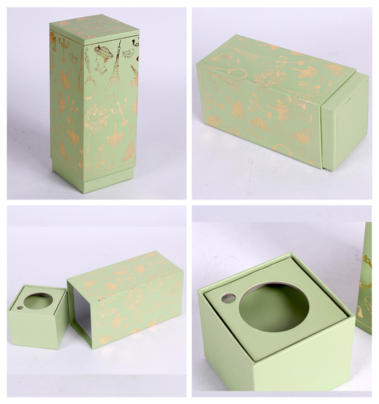 Small Custom Made Cosmetic Cardboard Packaging Box