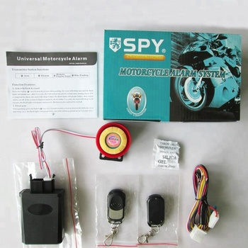 Safeguard motorcycle accessories mp3 audio alarm system