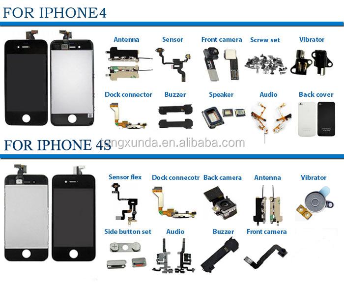 iphone 4 parts list pdf