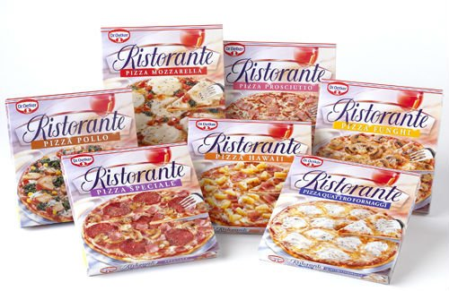 Dr Oetker Pizza Products